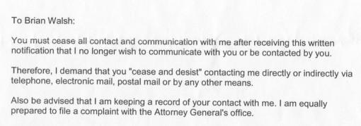 R's registered letter (09/29/2011)