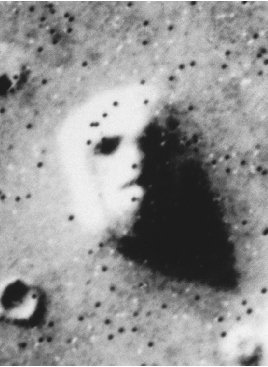 moon face on mars - photo #8